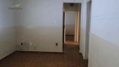 casa com 6 dormitórios para alugar, 400 m² por r$ 1.700/mês - vila paraíso - mogi guaçu/sp - ca0918