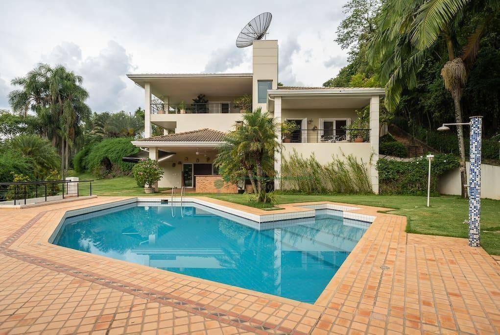 casa com 6 dormitórios à venda, 1200 m² por r$ 1 - condomínio terras de são josé - itu/sp - ca0923