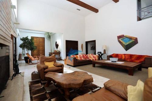 casa com 6 dormitórios à venda, 1400 m² por r$ 7.900.000 - ca0026