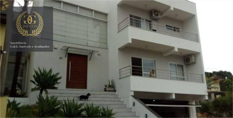 casa com 6 dormitórios à venda, 250 m² por r$ 900.000,00 - condomínio cantegril - viamão/rs - ca0210