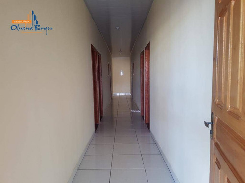 casa com 6 dormitórios à venda, 280 m² por r$ 400.000 - rural - abadiânia/go - ca1352