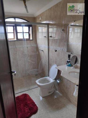 casa com 6 dormitórios à venda, 410 m² por r$ 560.000 - jardim merci ii - jundiaí/sp - ca1885