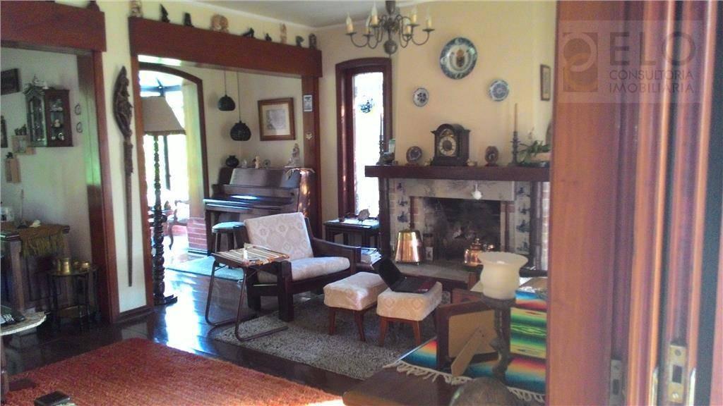 casa com 6 dormitórios à venda, 450 m² por r$ 3.300.000,00 - morro santa terezinha - santos/sp - ca0133