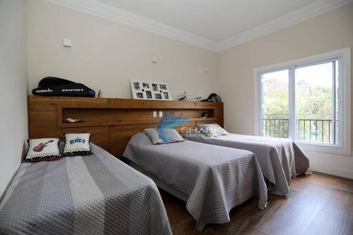 casa com 6 dormitórios à venda, 850 m² por r$ 6.500.000 - fazenda vila real de itu - itu/sp - ca0070