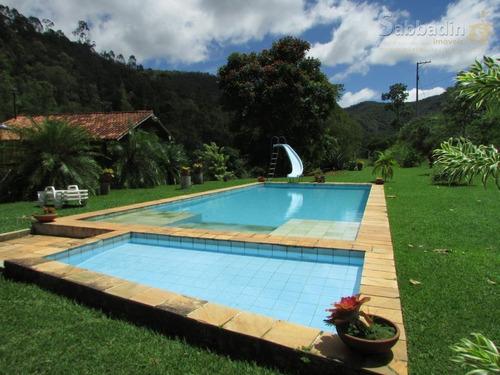 casa com 6 dormitórios à venda, 900 m² por r$ 1.100.000 - areal - areal/rj - ca0329