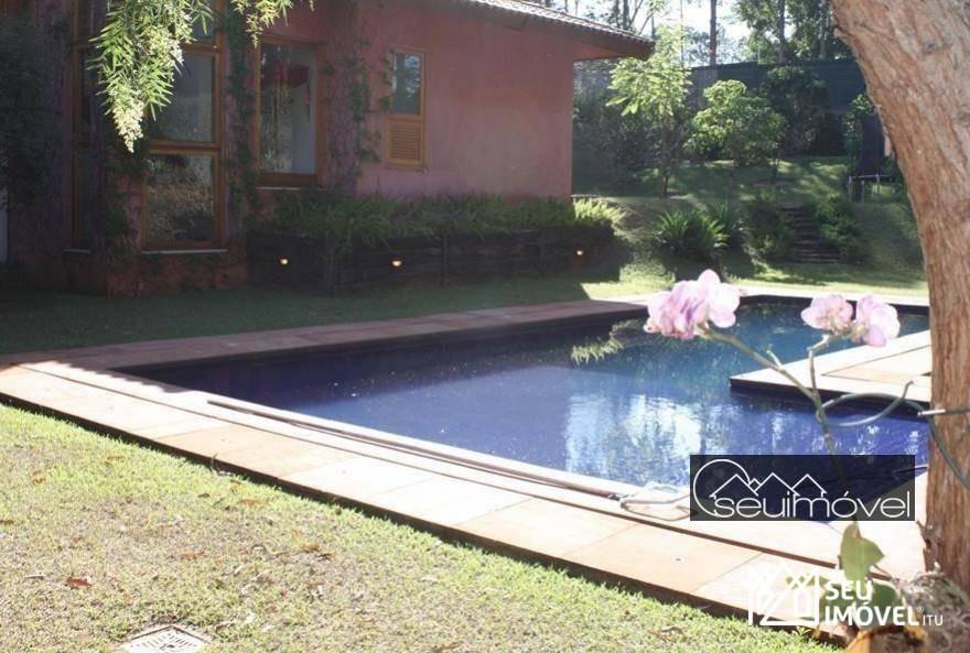 casa com 7 dormitórios para alugar, 544 m² - fazenda vila real de itu - itu/sp - ca0756