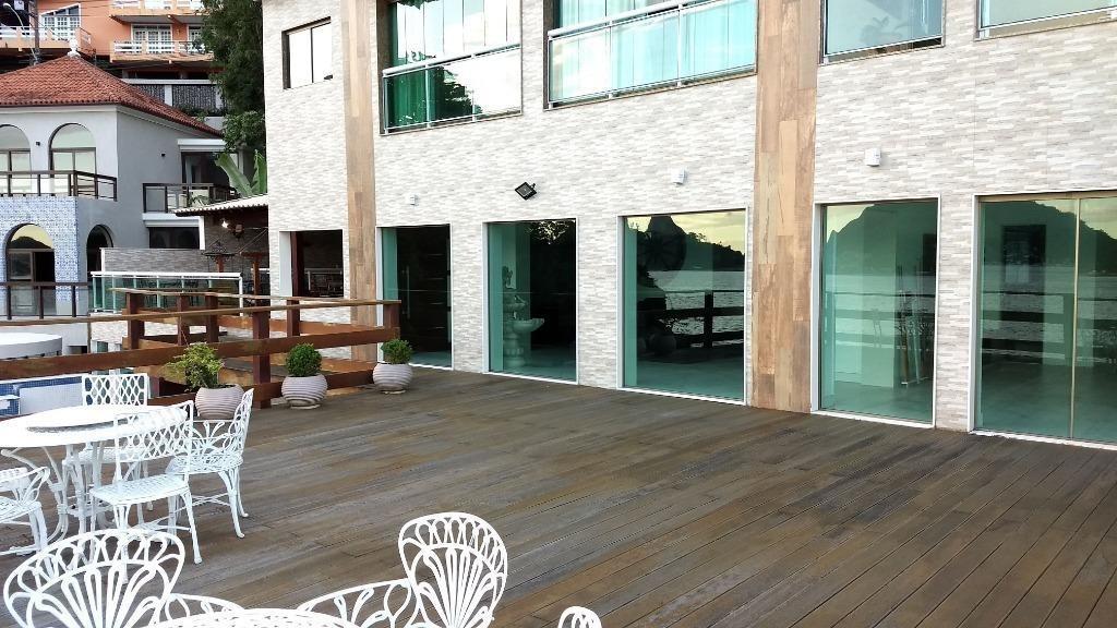 casa com 7 dormitórios à venda, 1900 m² por r$ 7.000.000,00 - são francisco - niterói/rj - ca0306