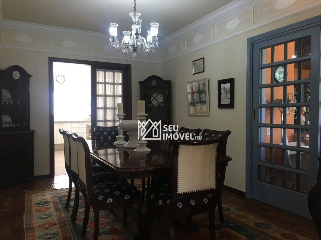 casa com 7 dormitórios à venda, 900 m² por r$ 6.500.000 - condomínio terras de são josé - itu/sp - ca1870