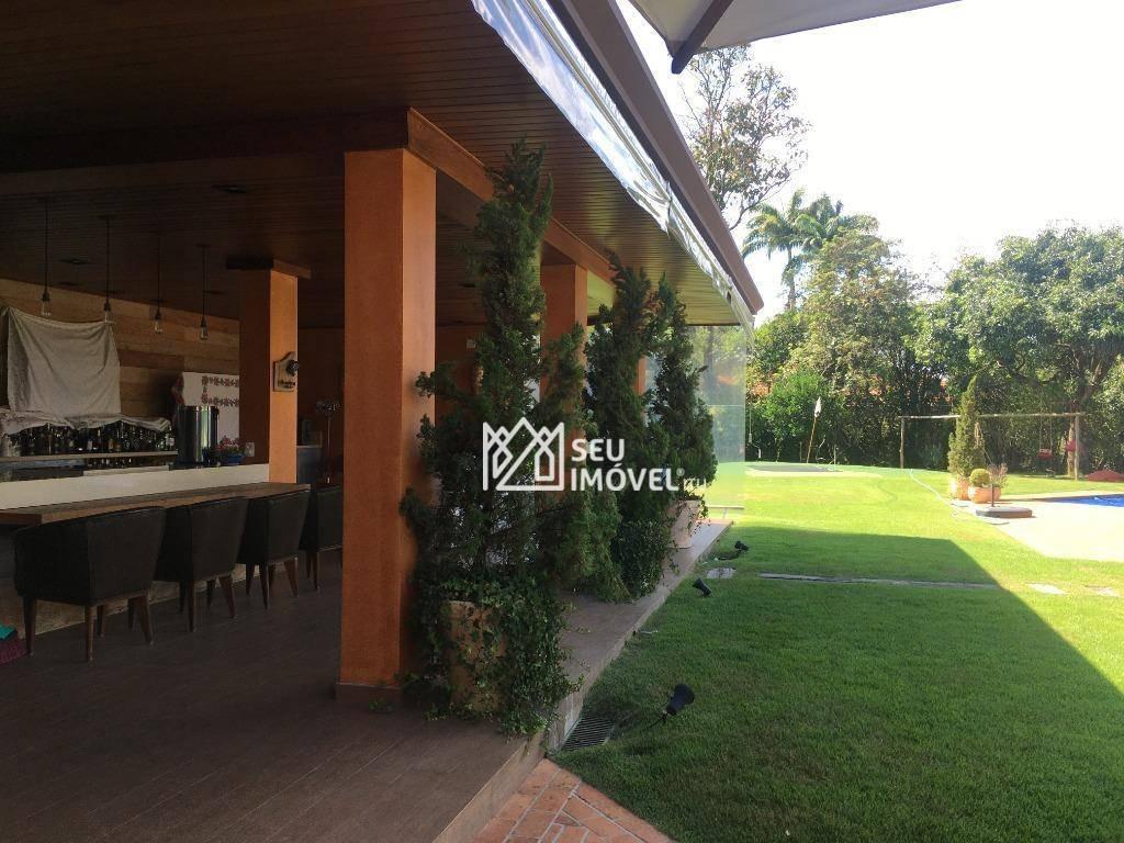 casa com 7 dormitórios à venda, 900 m² por r$ 6.500.000,00 - condomínio terras de são josé - itu/sp - ca1870