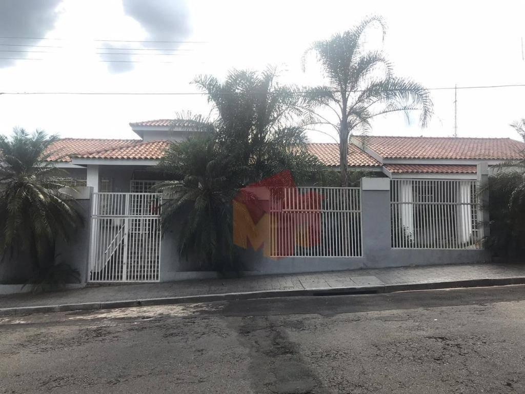 casa com 9 dormitórios para alugar, 360 m² por r$ 8.000/mês - vila santa catarina - americana/sp - ca0510