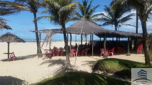casa com bar restaurante beira mar a venda em barra do cunhau