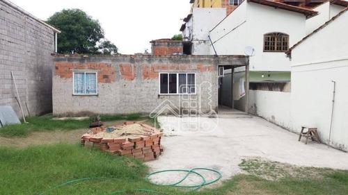 casa com caraterísticas comerciais terreno 360m²,  4 dormitórios à venda, 136 m² por r$ 450.000 - colubande - são gonçalo/rj - ca0920
