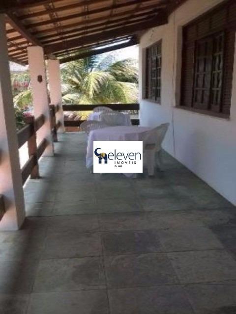 casa com dois pavimentos em condomínio para venda stella maris, salvador 4 dormitórios sendo 3 suítes, 3 salas, 2 banheiros, 1 vaga, 301 m², 840 m² área total. - tjl363 - 4733217