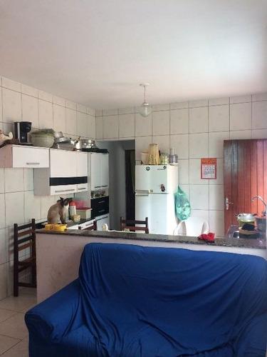 casa com escritura e 2 dormitórios em itanhaém - ref 3491-p