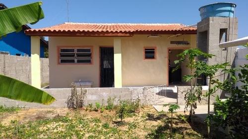 casa com escritura em itanhaém, lado praia - ref 3290-p