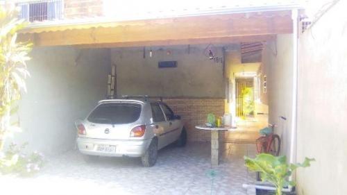 casa com espaço para piscina e 2 quartos, itanhaém-sp!