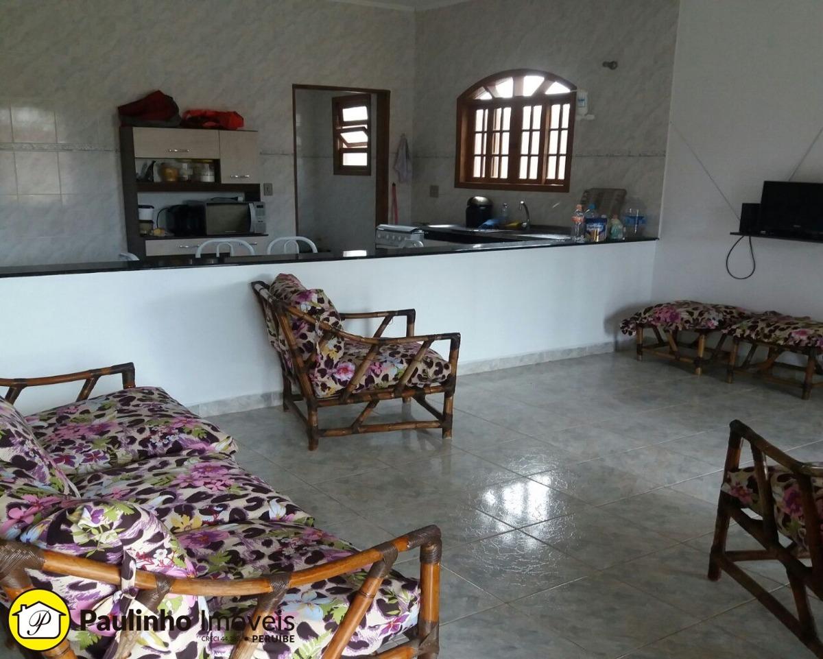 casa com excelente área de terreno a venda em peruíbe - ca02845 - 32415883