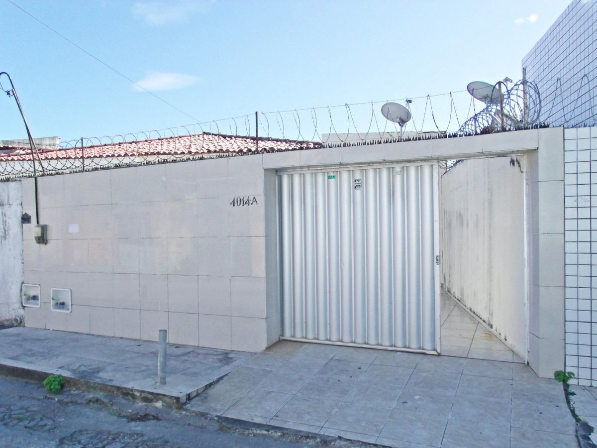 casa com garagem, 2 quartos, quintal - são joão do tauape