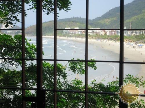 casa com linda vista para praia grande - 18940