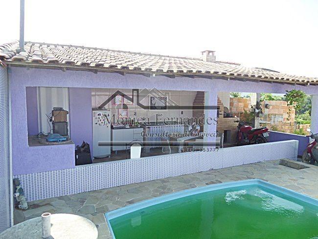 casa com piscina, 3 quartos, com vista para lagoa em maricá.