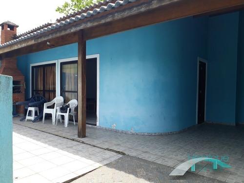 casa com piscina a 200 metros da praia - 15 pessoas - casablanca - peruíbe/sp - ca00410 - 33404751