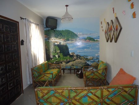 casa com piscina a 400 metros da praia - jamaica - ref: 806