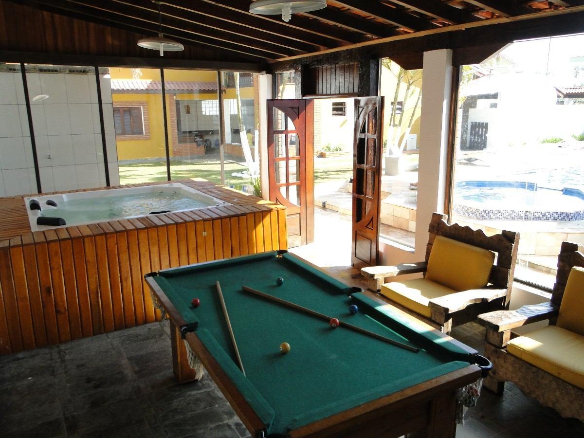 casa com piscina aquecida para excursão 2 spar c hidro,sauna