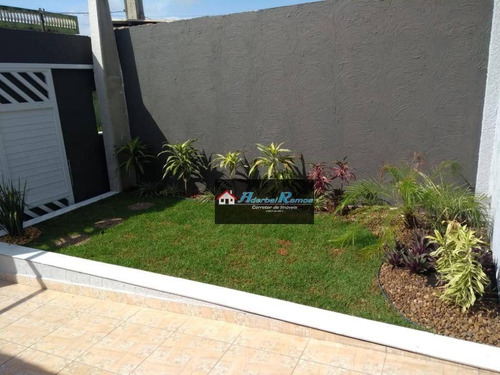casa com piscina com 2 dormitórios à venda, 65 m² por r$ 209.000 - estancia sao jose - peruíbe/sp - ca1327