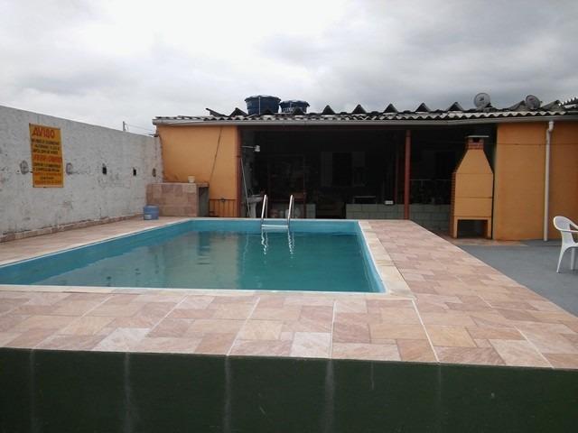 casa com piscina, de esquina, ampla, lado praia, docs ok!