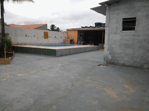 casa com piscina e 3 quartos, com escritura na praia!!!