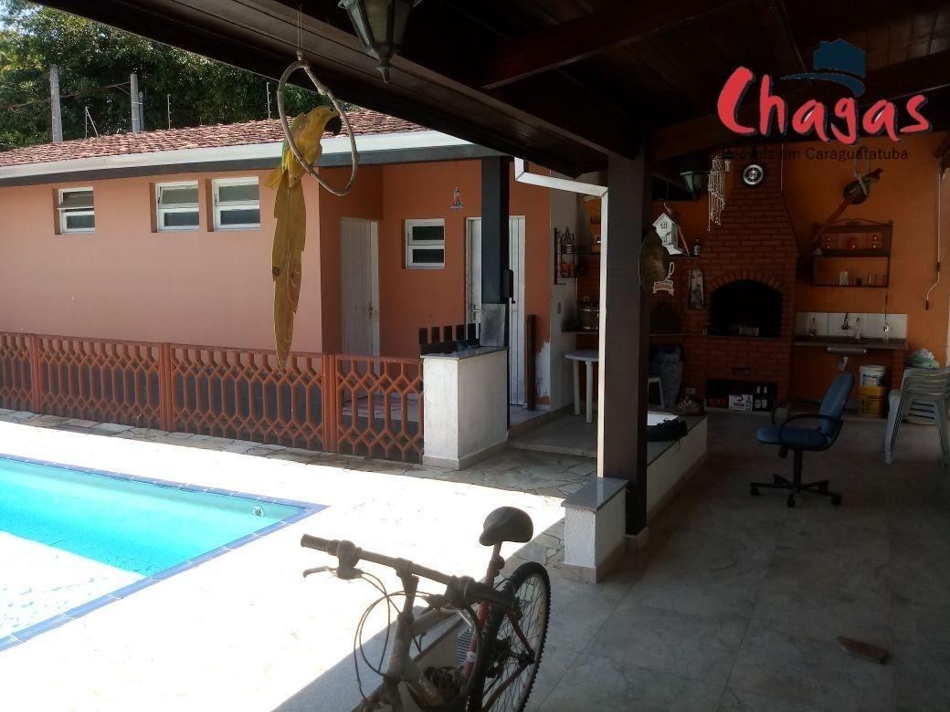 casa com piscina em caraguatatuba - 1358