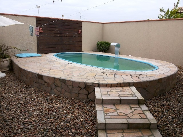 casa com piscina em penha/sc - 450z