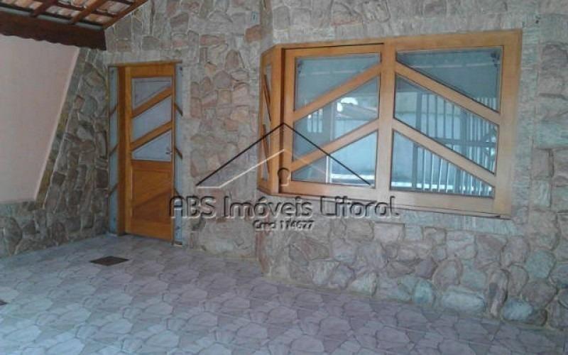 casa com piscina em vila caiçara, praia grande-sp