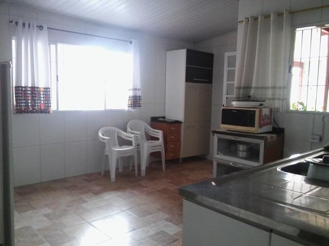 casa com piscina na praia de itanhaém, 3 quartos amplos!
