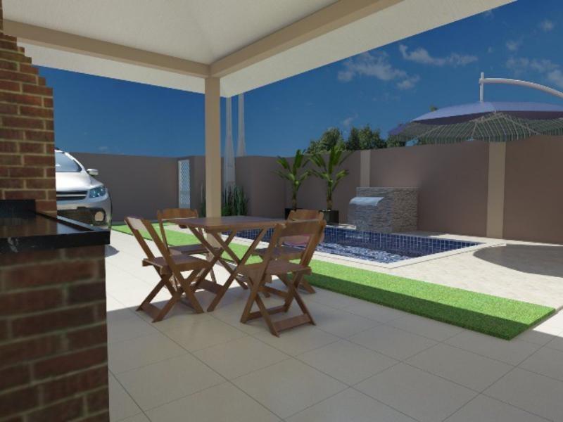 casa com piscina no cibratel 2 em itanhaém - 4334 | npc