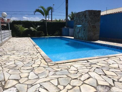 casa com piscina no cibratel 2, itanhaém - ref 4746-p
