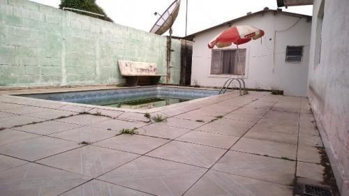 casa com piscina, no jardim são fernando, em itanhaém
