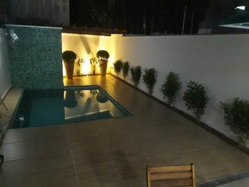 casa com piscina no litoral ficando 400 m da praia - 6136