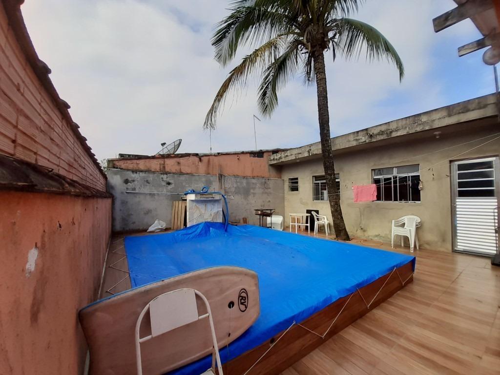 casa com piscina no loty em itanhaém!! ref. ca0084