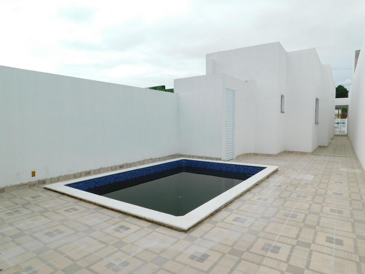 casa com piscina à venda no jardim ribamar em peruíbe.