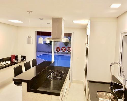 casa com quatro suítes, condomínio jardim paulista, vinhedo-sp - ca01781 - 34421632