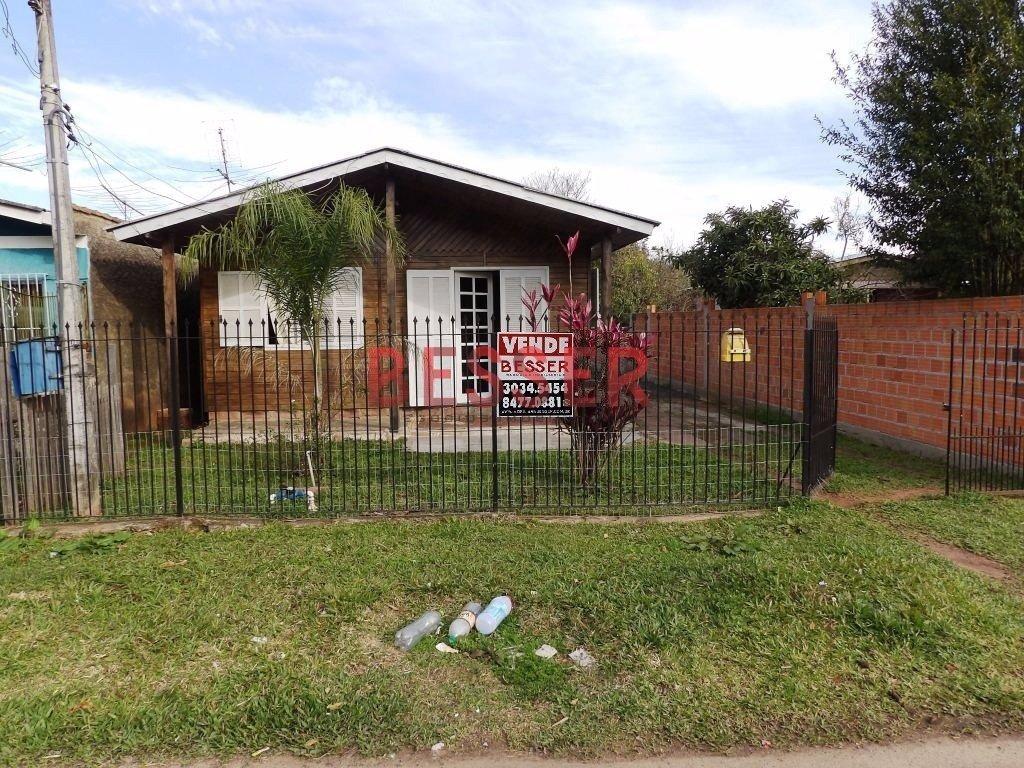 casa com terreno de 400 m² em sapucaia do sul - v-277