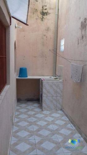casa com três dormitórios e amplo terreno - lado praia suarão - locação fixa - ca0183