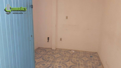 casa comercial duplex, terreno 491 m², excelente ponto comercial.periperi. - ca0035
