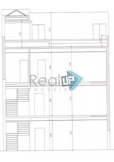 casa comercial ou residencial na quadra da praia, leblon - 15107