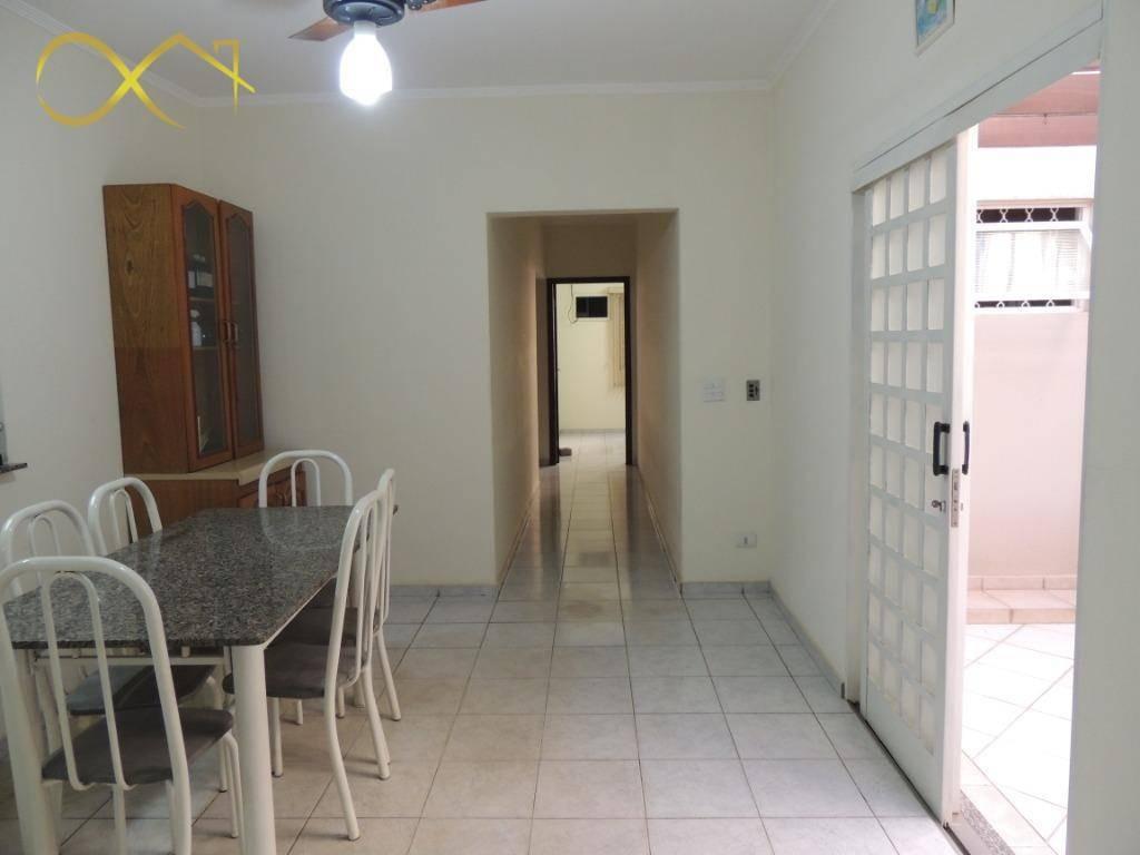 casa comercial para alugar, 250 m² - santa cecília - paulínia/sp - ca1719