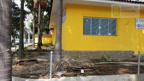 casa comercial para locação, bairro jardim, santo andré. - codigo: ca0267 - ca0267