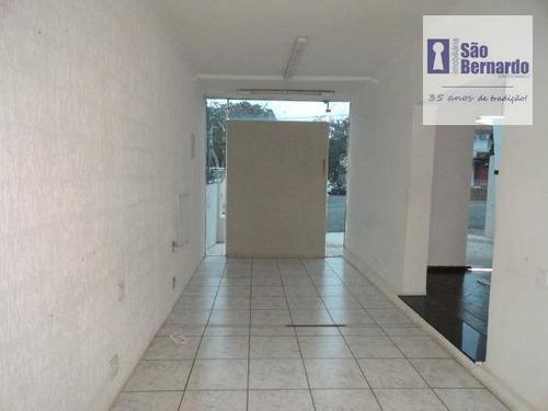 casa comercial para locação, centro, americana. - ca0490
