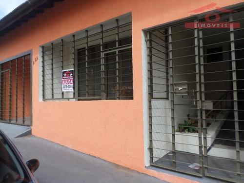 casa comercial para locação, centro, bauru. - ca0511