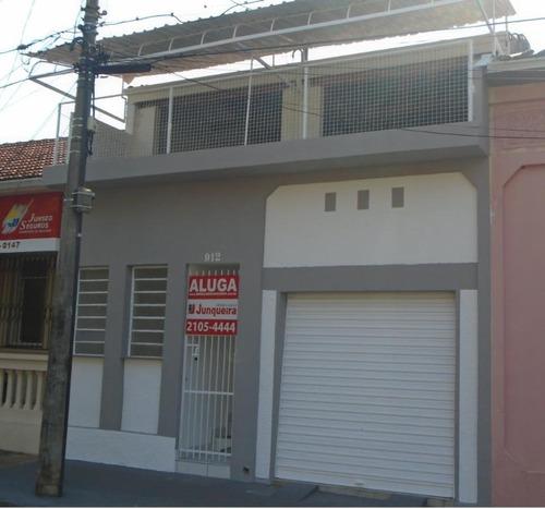 casa comercial para locação, centro, piracicaba. - ca2438